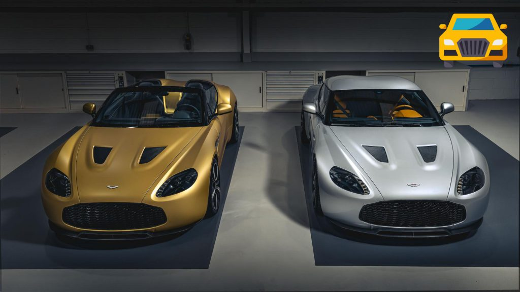Aston V12 Zagato TWINS